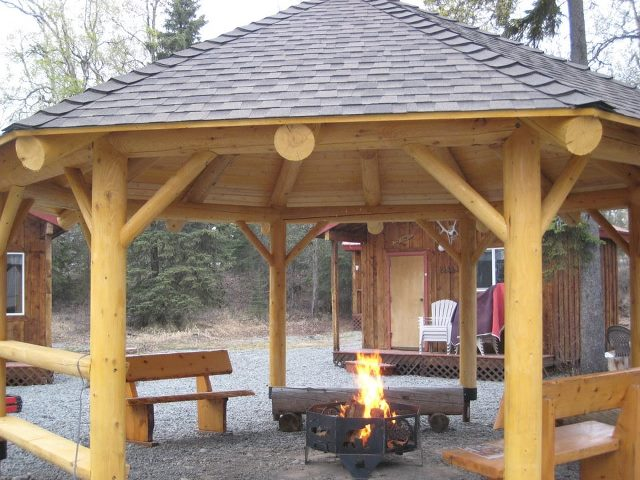 Fire Pit Safety With a Gazebo or Pergola - The Fire Pit Store - Fire Pit Safety With A Gazebo Or Pergola - The Fire Pit Store